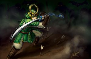 The Ordon Samurai by MGabric