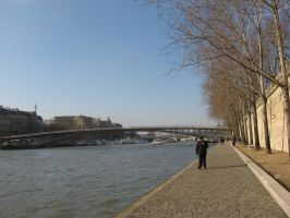 River Seine Stock by prudentia