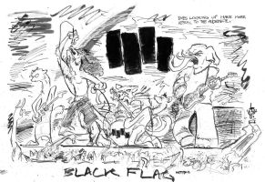 BLACK FLAG - furries by LiimLsan