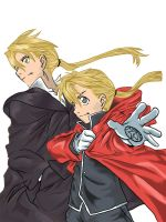 Elric Brothers by KajiMateria