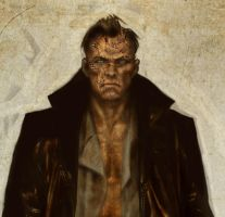 I Frankenstein 04 (detail) by LiamSharp