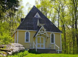 Chapel in the Sun by ixbalam
