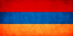 Armenia Grungy Flag by think0
