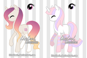 OPEN Unicorn Adoptables 9 by LinaLeeL