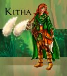 Kitha - rough concept 1 - by Taleea