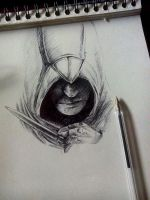Incomplete Altair - ballpoint pen by Musiriam