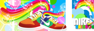 Nike Rainbows by Vasco-gfx