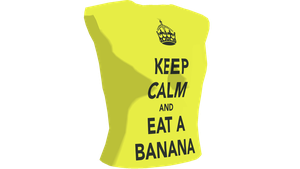 MMD Eat A Banana Top DL by chickid11