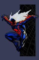 Spider-man 2099 by Ironmatt1995