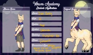 Application for Vitrum Academy by CancerConstellation