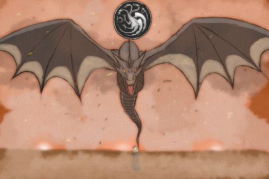 Fire and  Blood by shingen012