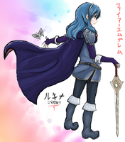 FE13 Lucina / Rukina Collaboration by KitsuneInari