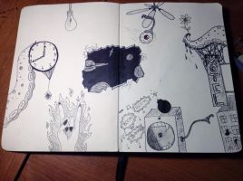 Sketch Book Inside Cover by Namuamazing