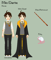 HP - Milo Reference Sheet by porcelian-doll