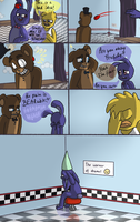 Fnaf comic - Bearable by Maria-Ben