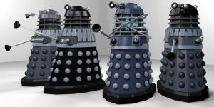 Big Finish Daleks WIP by Librarian-bot