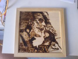 Wil Francis Pyrography by skullfaced