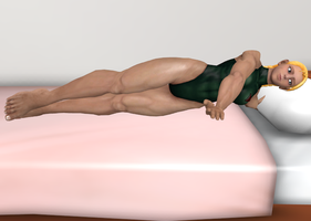 Cammy on bed by alvarobmk123