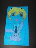Honey and his bunny by BLacKIe-dARkcHIld
