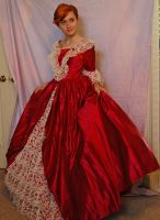 Elegant Gown 2 by Valentine-FOV-Stock