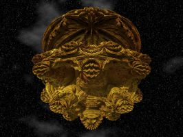 Gold Encrusted Mandelbulb by Gibson125