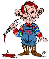 Chucky W. Bush by Latuff2