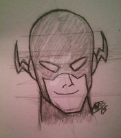 Bruce Timm Flash by MattColvin