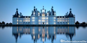 Blue hour at Chateau de Chambord by svenart
