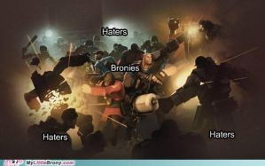 Bronies Vs Haters by JettwinsFan