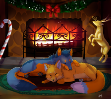 Waiting for Santa by Skeleion