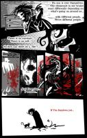 Dark Comic page two by Bilious