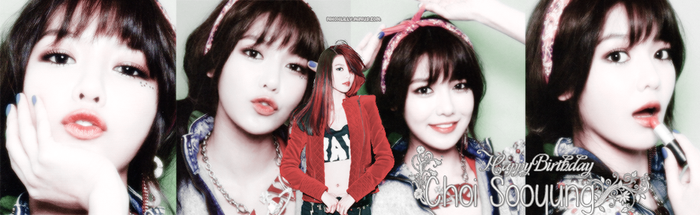 [COVER ZING ] HAPPY BIRTHDAY CHOI SOOYOUNG by lilly1608