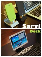 Sarvi dock-----Best charging dock for smart phone3 by luwe2009