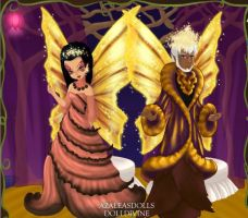 Pixie Scene Maker: Titania and Oberon by HC-IIIX