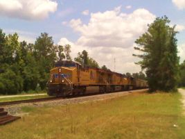 Big Northbound at Rayford RD by SwiftWindSpirit