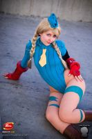 Cammy Cosplay Ikuy 50 by TheUnbeholden