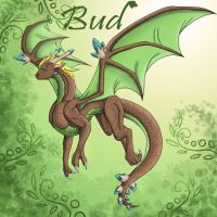 Bud Dragon by Dragonauroralight