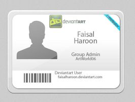 Deviant id by Faisalharoon