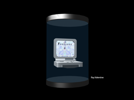 My 3d Model of a Gameboy Sp by RayValentine