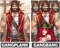 LoL Gangplank by Exaxuxer
