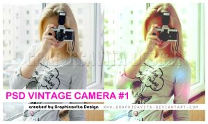 PSD Vintage Camera 1 by graphicavita