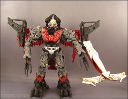Mega Hordak  Robot mode by tin-robot