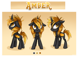 Amber - Reference sheet by pepooni