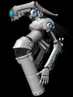Floater Droid White by Shikijiyu