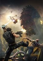 Bulletstorm promo art - cover by Matchack