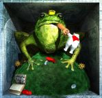 EH 47 - THE FROGKING by Polygonist