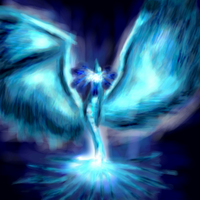 Blue Phoenix by zarkatz