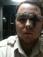 Chainmail Eye Patch by RosiesPhotos