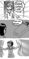 Wake up Eren by iKushina