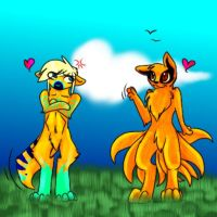 Naruto/DL - Nine Tails Better Than One? by HesperCambrie